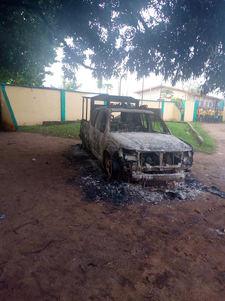 Apumiri Ubakala Police Station Attack In Abia State